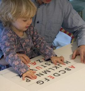 De store bogstaver studeres