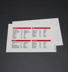 Postkort med mål og vægt 4
