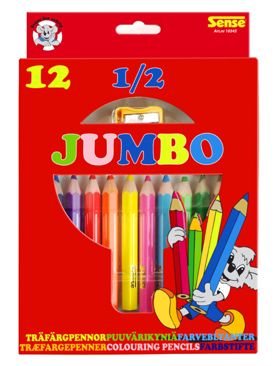 Jumbo farveblyanter